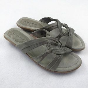 BareTraps Cate Leather Sandals Size 8 Medium